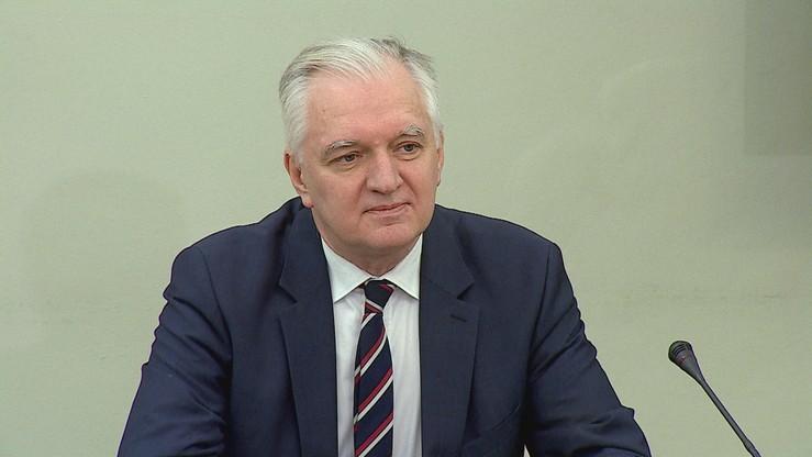 """""""Państwo okazało się nieskuteczne"""". Jarosław Gowin przed komisją śledczą ds. VAT"""