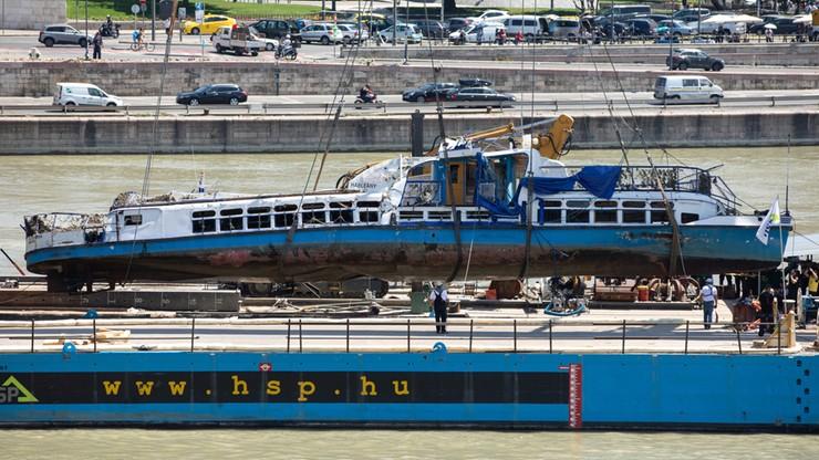 Wydobyto wrak statku z Dunaju, odnaleziono cztery ciała
