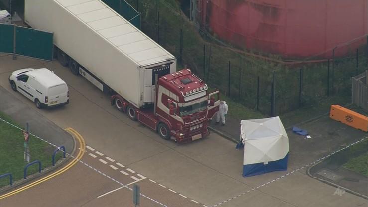Wielka Brytania: w ciężarówce znaleziono 39 ciał