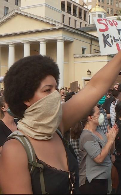 Protesty w USA po śmierci George'a Floyda